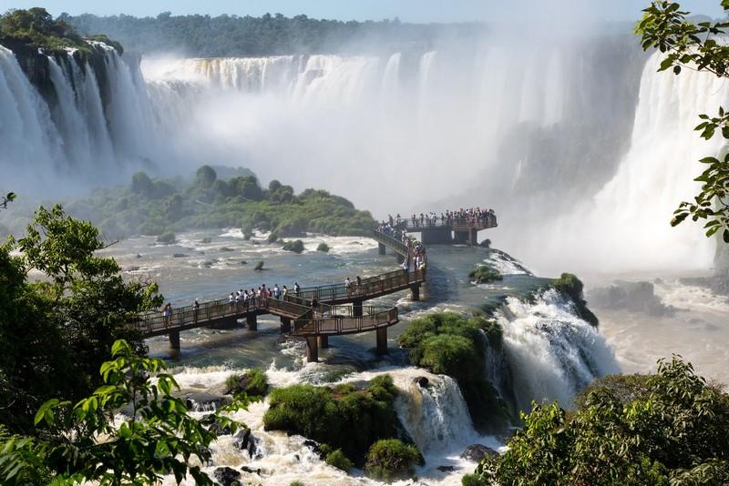 Chûtes d'Iguazu coté Argentine