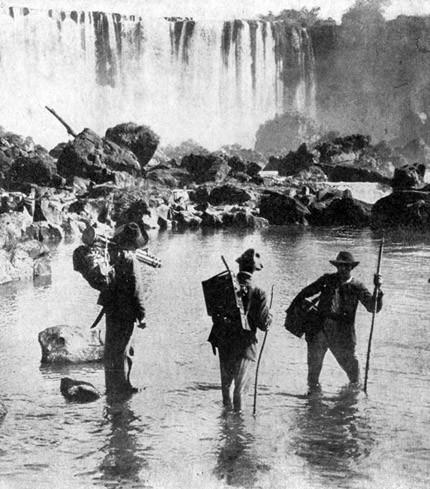 Histoire des chûtes d'Iguazu