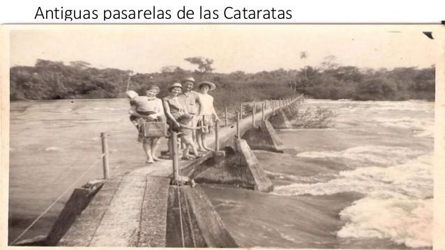 Ancienne passerelle des chûtes d'Iguazu