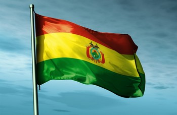 Bolivie drapeau