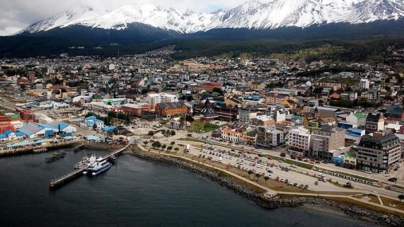 Capitale Terre de Feu Ushuaia