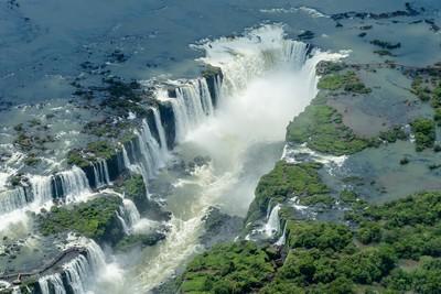 Iguazu vue du ciel