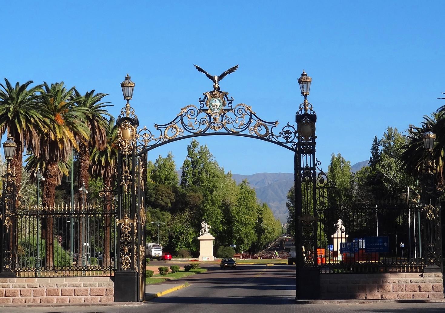 Mendoza parc San Martin